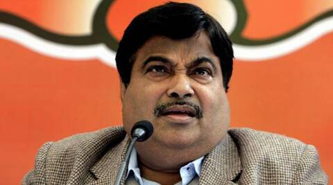 Former BJP Chief Nitin Gadkari's total liabilities stood at Rs 1,30,35,000. (AP)
