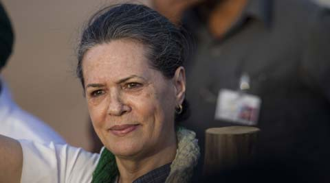 Congress President Sonia Gandhi today accused Arvind Kejriwal of shying away from Delhi.