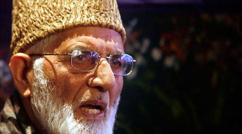 Hardline Hurriyat Conference leader Syed Ali Shah Geelani on Tuesday met Pakistan's High Commissioner Abdul Basit.