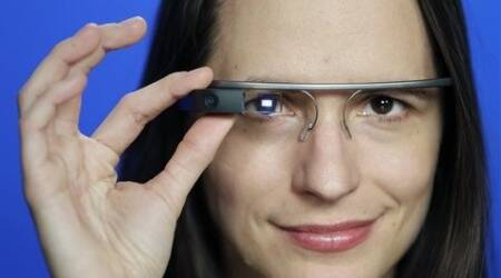 Google Glass feels bulky on my face and when I look in the mirror I see a futuristic telemarketer looking back at me