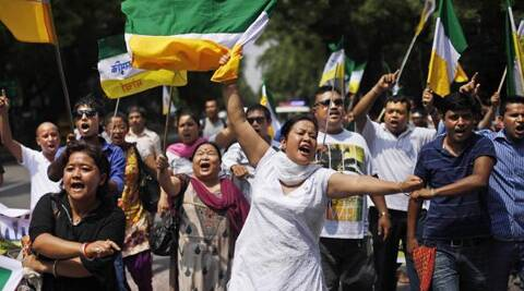 GJM is opposed to Trinamool Congress's candidate in Darjeeling Baichung Bhutia. (AP)