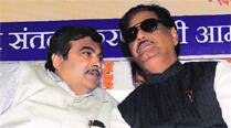 In Maharashtra, Munde usually one up on Gadkari