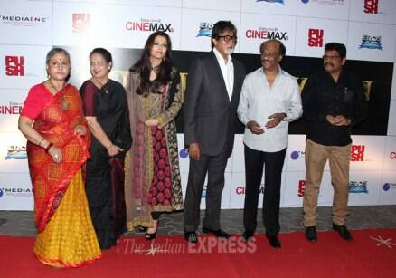 Aishwarya Rai, Amitabh Bachchan launch Rajinikanth's 'Kochadaiiyaan'