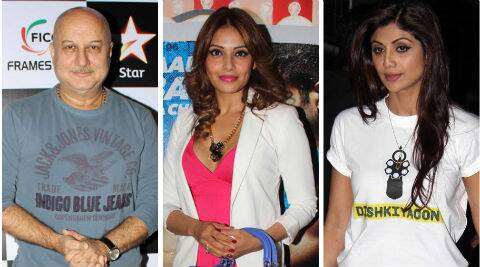 Anupam Kher, Bipasha Basu and Shilpa Shetty wish fans Happy Gudi Padwa.