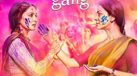 'Gulaab Gang' is a commercial potboiler.
