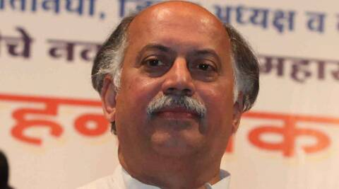 The articles highlighted Kamat's proximity to the Gandhi family. (Express Archive)