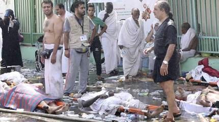 LIVE Mecca stampede: Death toll rises to 717, over 850 Hajj pilgrims injured