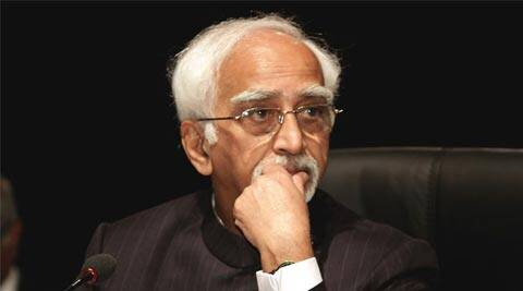 The undersecretary to Vice-President Hamid Ansari (above), Mahitab Singh, has sent the representation to MHRD urging 'appropriate action'. ( Source: AP )