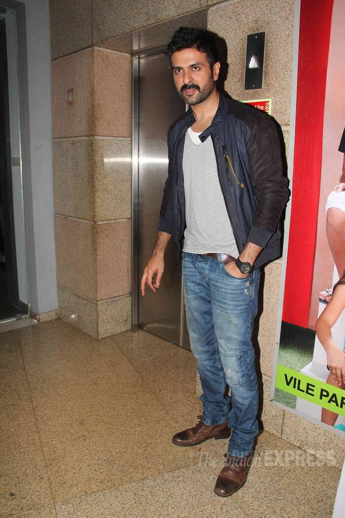 Bipasha's beau and man of the moment Harman Baweja looks chilled out. (Photo: Varinder Chawla)