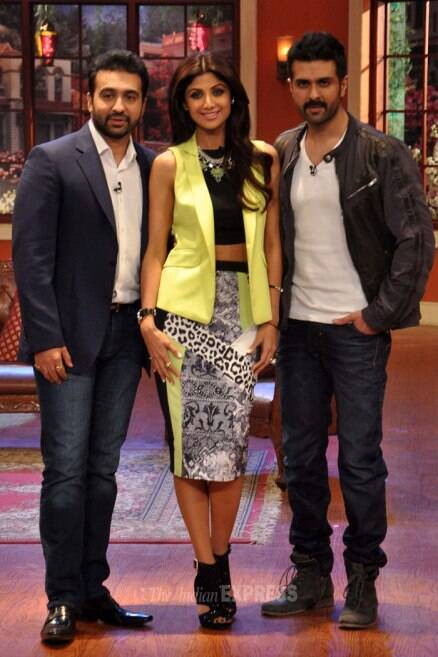 Shlipa, Harman take 'Dishkiyaoon' to Kapil's comedy show