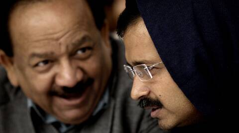 Harsh Vardhan said Central Government and Delhi Government claimed that 81 crore people of the country are being given benefits of food security law. (Express Archive)