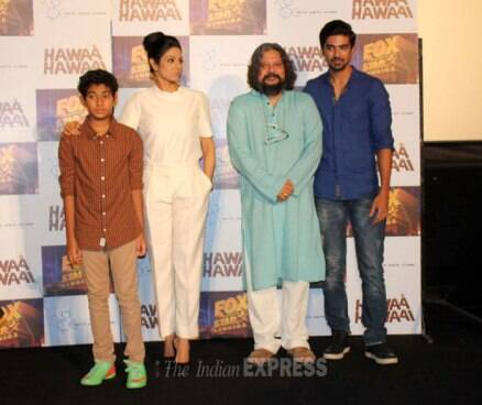 Sridevi, Amole Gupte launch 'Hawaa Hawaai' trailer