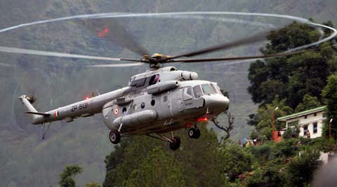 The IAF has its Dornier aircraft along with the Mi-17 helicopters deployed in the Island territory. (Indian Express)