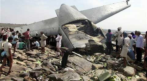 C-130J Hercules plane inducted into service just last year crashed during a training mission Friday. (AP)