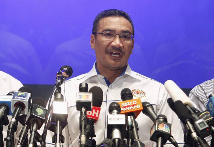 """We are doing everything in our power to locate the plane. We are doing everything we can to ensure every possible angle has been addressed,"" Transport Minister Hishamuddin Hussein told reporters near the Kuala Lumpur International Airport. (Reuters)"