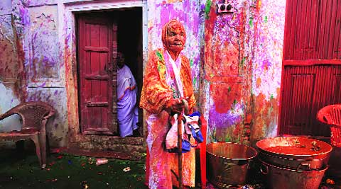 Defying the age-old custom that they should stay away from celebrations, about 1,000 widows from six ashrams in Vrindavan celebrated Holi for the first time.
