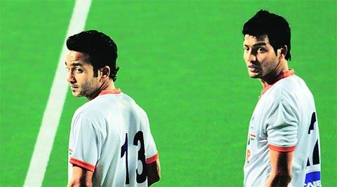 Affan Yousuf (L) and Yuvraj Walmiki (R) are two of the youngsters in the probables. Yuvraj's brother Devinder is also in the 33 man list.