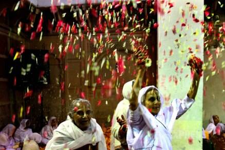 Holi colours the lives of Vrindavan widows