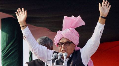 Claiming that after the ensuing Assembly elections, INLD will be wiped out from the state, Hooda said Congress' contest will be with the BJP.
