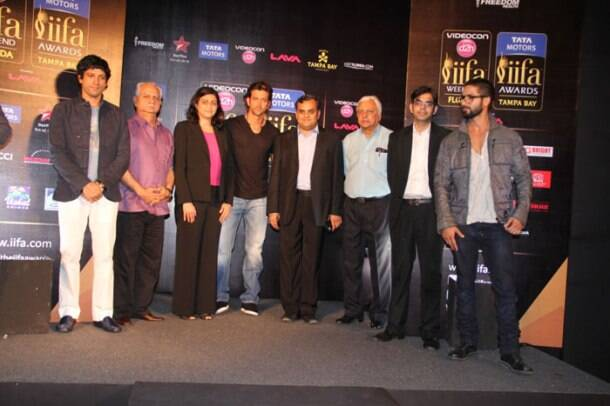 Farhan, Hrithik, Shahid come together for IIFA 2014