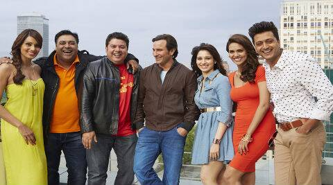 'Humshakals' has been shot extensively abroad and is slated to hit screens by June 20.