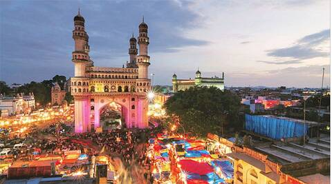 Despite Hyderabad having been the capital of the first linguistically formed state, there is nothing Telugu about it.