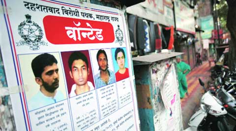 Four terror suspects wanted for Pune and Mumbai blasts. (File)