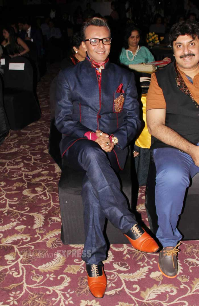 Former 'Bigg Boss' housemate Imam Siddique was also present at the launch. (Photo: Varinder Chawla)