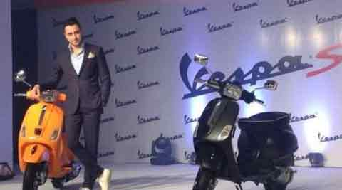 Piaggio launches Vespa S at Rs 76,495