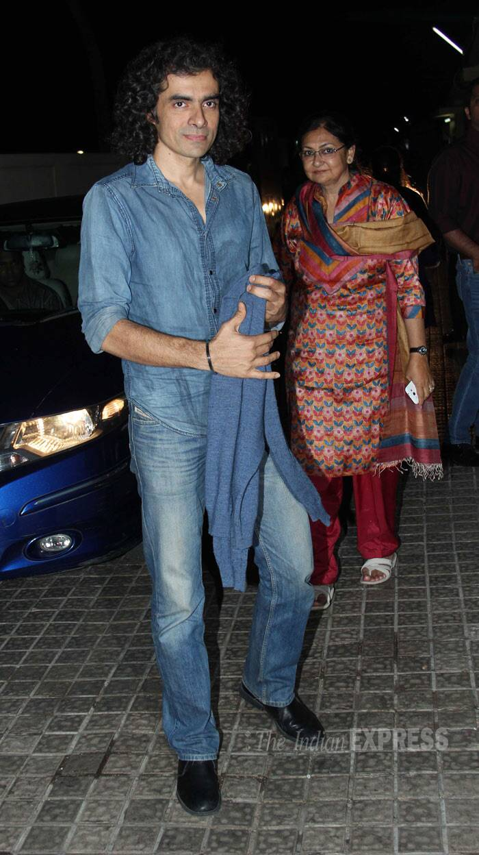 Director Imtiaz Ali who is celebrating his success with 'Highway' was also present. (Photo: Varinder Chawla)