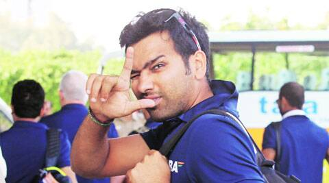 Rohit Sharma could well be seen as a middle-order batsman again. File