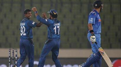 ICC World Twenty20: Lasith Malinga's four seals five-run win