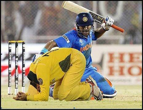 Funny cricketing images