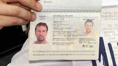 An Iranian identified as Pouria Nour Mohammad Mehrdad who travelled on the stolen passport . (AP)