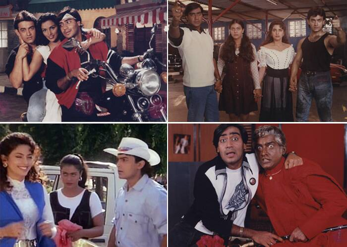 The following year Aamir Khan starred in 'Ishq' along with Ajay Devgn, Kajol and Juhi Chawla. The muti-starrer performed well at the Box office.