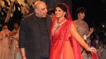 LFW 2014: Jacqueline Fernandez walks the ramp for Tarun Tahiliani