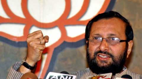 BJP spokesman and MP Prakash Javadekar. (PTI)