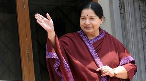 Jayalalithaa builds up her election addresses on the flagship schemes of free mixer-grinder, free milch cow and goats scheme. (Reuters)