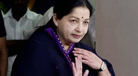 "Jayalalithaa blamed the ""wrong economic policies"" of the UPA for the price rise and other ills faced by the people. (PTI)"