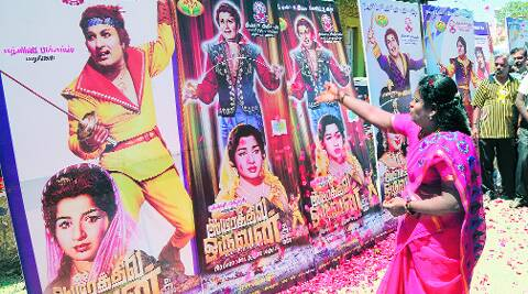 To beat poll code, first Jaya movie with MGR returns, angers DMK