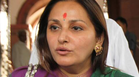 Jaya Prada is a candidate from Rashtriya Lok Dal. (IE)