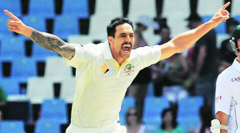 Mitchell Johnson was instrumental in Australia's Test series wins over England and South Africa.