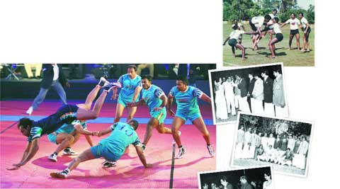 To make the game more viewer-friendly, the new kabaddi league will have matches played on pink mats.