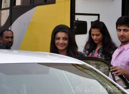 Celebrity spotting: Chitrangada, Kangana, Vidya, Kajal