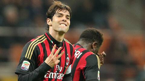 Kaka scored twice in the 3-0 win over Chievo Verona (AP)