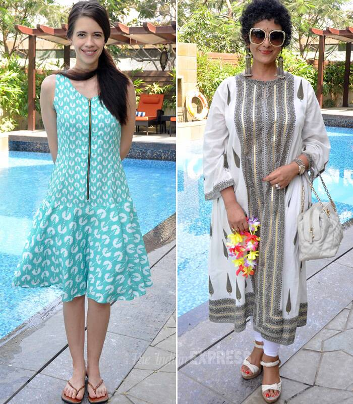 Bollywood girls Kalki Koechlin, Manisha Koirala and Divya Dutta among others attended a brunch hosted by Shital Nahar Agarwal over the weekend at her spa.