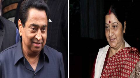 Leader of Opposition in Lok Sabha Sushma Swaraj and Union Ministers Kamal Nath are in the fray from Madhya Pradesh for the upcoming Parliamentary polls.