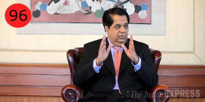 <b>K V Kamath</b> (66),  Lead Independent Director, Infosys<br /> <b>WHY</b>: India's banking doyen stepped down as chairman from the Infosys board last June calling on Narayana Murthy to bring back the mojo to the company. His step has pushed the market cap of the company by a massive 62 per cent in just 10 months.