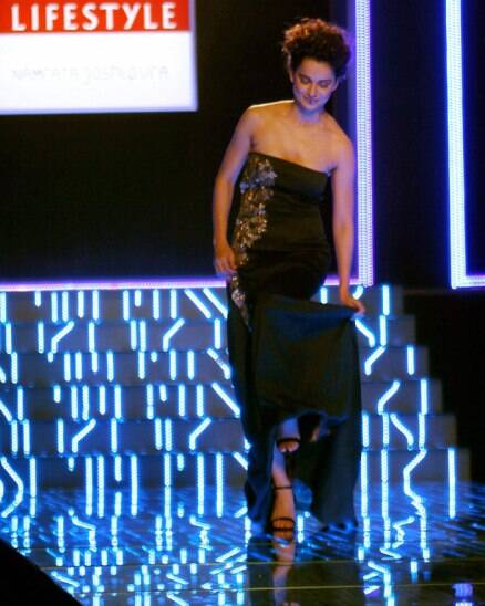 Kangana Ranaut brings Wills Lifestyle Fashion Week to a close