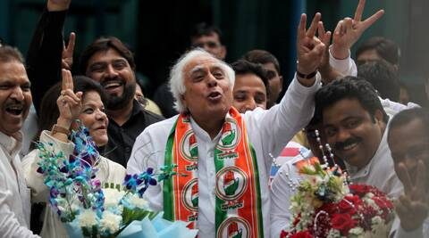 Kapil SIbal said people of Chandni Chowk believe in the Congress. (IE Photo; Tashi Tobgyal)